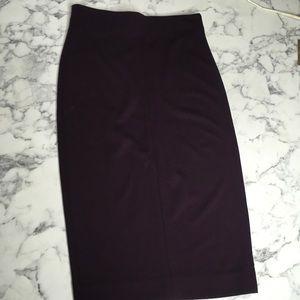 Wilfred MIDI Aritizia Skirt Small Purple